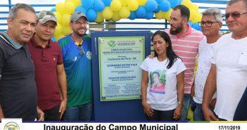 Inauguração do Campo Municipal Francisco Weslem Feitosa Silva